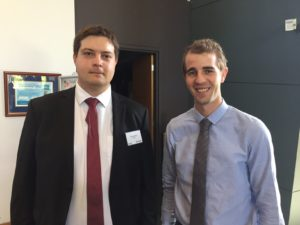 PhD students Bruce Norris & Thomas Charlton are developing Flow Assurance Software