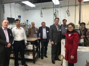 Separation & Sensing Workshop attendees tour the UWA Gas Processing Laboratories at ARRC