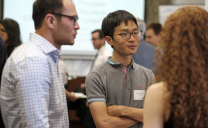 LNG Futures PhD Students Martin Khamphasith and Ryuta Ujihara at the networking event.
