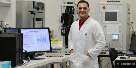 Congratulations to PhD Candidate Arman Siahvashi on being awarded a National Measurement Institute Award