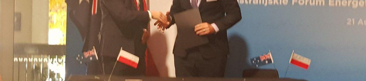 Polskie LNG UWA MoU Signing