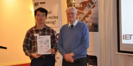 PhD Candidate, Xiong Xiao announced as winner of The Institution of Engineering and Technology Present Around the World (WA) Competition